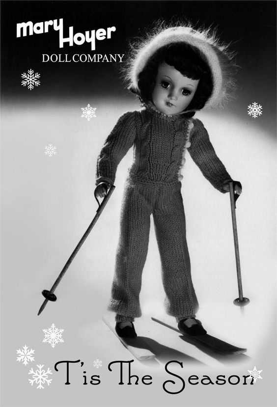 Mary Hoyer Doll Pattern - ski outfit