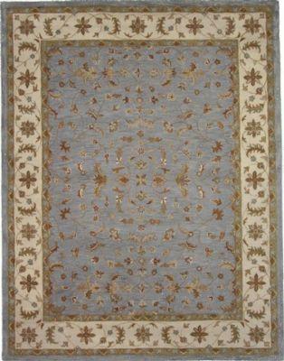 Blue-grey persian rug