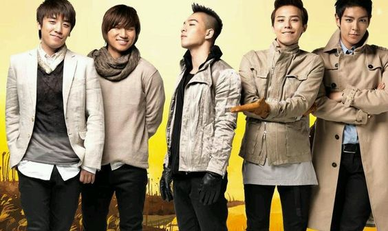 The boys  BIG BANG