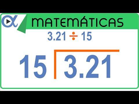 División Con Punto Decimal Ejemplo 2 De 6 Aritmética Vitual Youtube Decimal Aritmetica Divisiones Matematicas