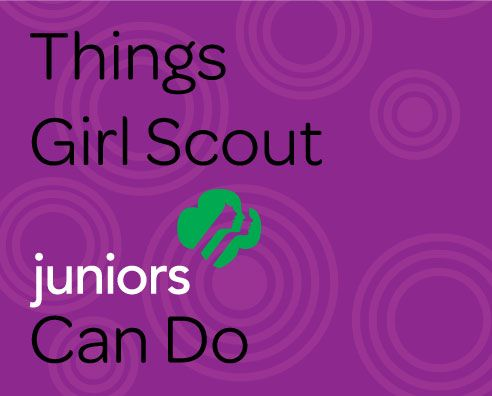 Things Girl Scout Juniors Can Do Volunteer Resources Guide