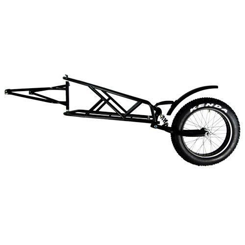 Quietkat Cargo Trailer Single Wheel Cargo Trailers Trailer Bike Cart