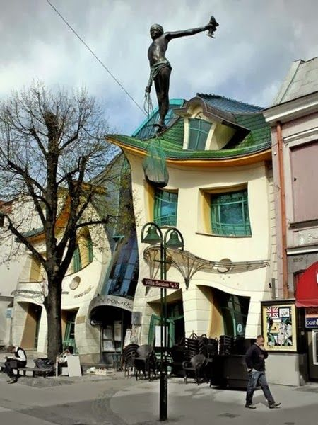 Architectural Designs - Crooked House – Sopot, Poland; http://en.wikipedia.org/wiki/Krzywy_Domek