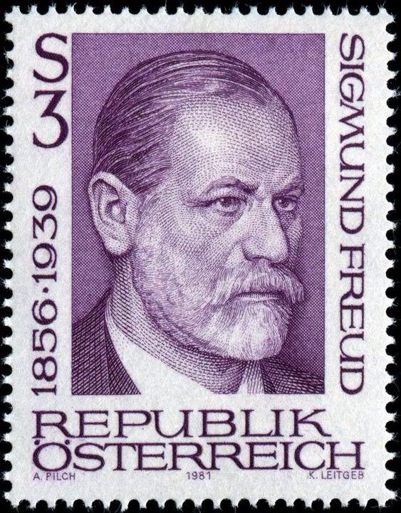 Resultado de imagem para selo de Sigmund Freud