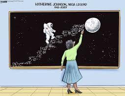 Katherine Johnson , Steve Breen - Búsqueda de Google