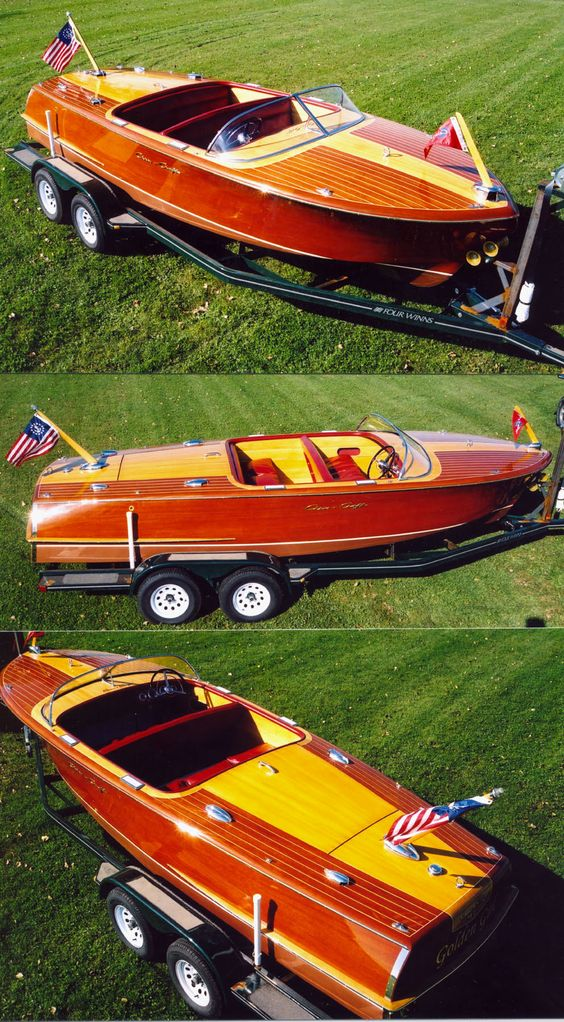 Classic boats 1960 21 ft chris craft continental wood for Classic chris craft boats