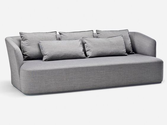 holly hunt shell sofa perfect to float in a room sofas