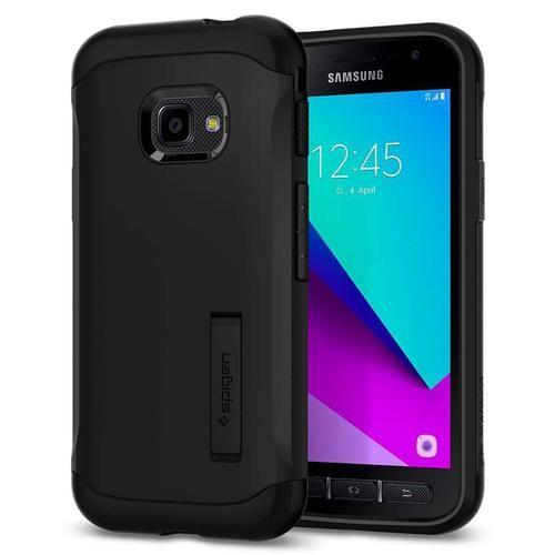 Slim Armor Backcover Voor De Samsung Galaxy Xcover 4 4s Zwart Samsung Samsung Galaxy Smartphone
