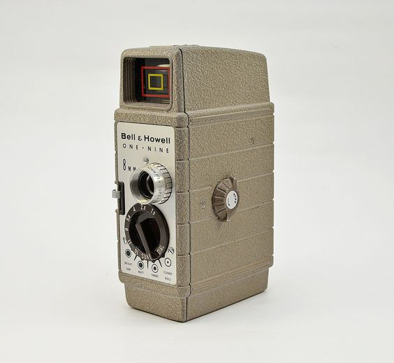 Vintage Bell & Howell One-Nine 8mm Movie Camera by vtgwoo on Etsy