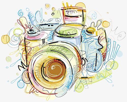 Camera Color Watercolor Canon Png Image Camera Art Free Vector Art Clip Art