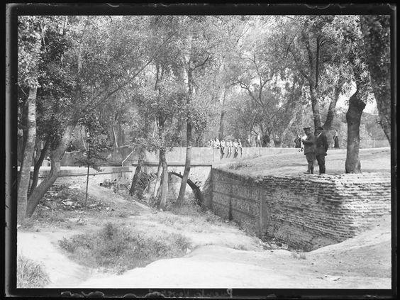 Madrid Puente de Neveros Casa de Campo Desaparecido