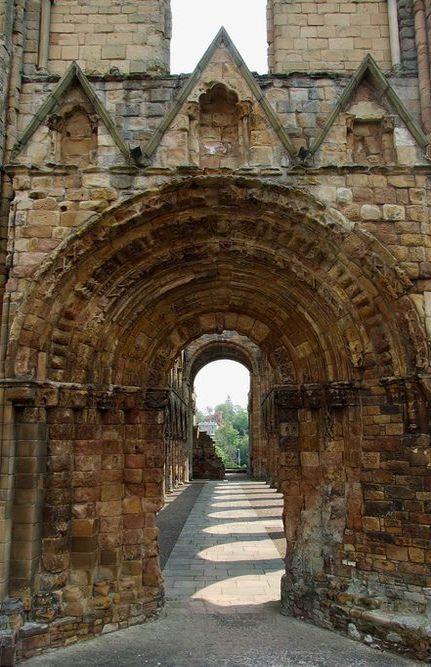 Medieval Portal, Jedburgh, Scotland