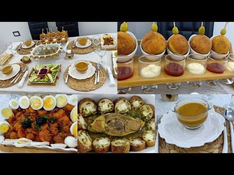 طاولة عشاء راقية رولي الدجاج لوبيا خضراء كرات البيتزا المقلية زرودية مشرملة Youtube Food Breakfast Muffin
