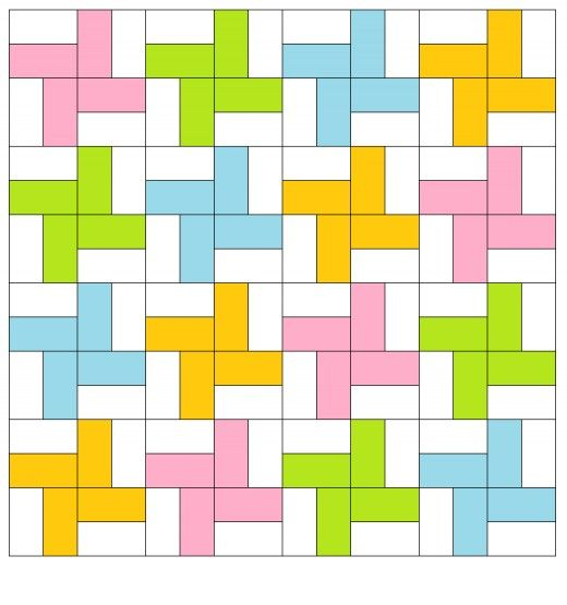 Knitting Patterns Using Squares And Rectangles : Quilt patterns, Pinwheels and Quilt on Pinterest