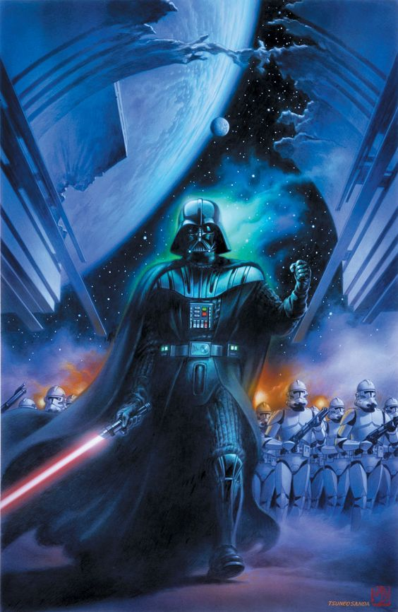 Darth Vader and the 501st Legion during a mission to rescue Garoche Tarkin.