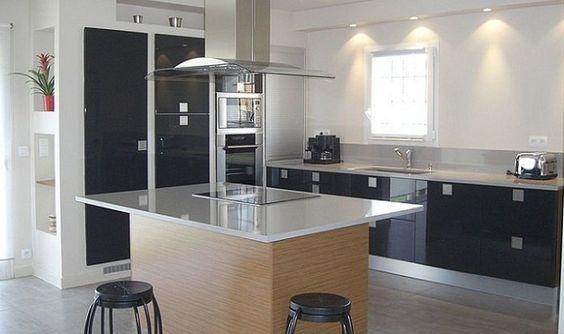 Cocinas con islas modernas cocina con isla2 jpg cocina - Islas para cocinas ...