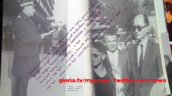 o robił wzorowo za członka Wojskowej Rady Ocalenia Narodowego, WRON-y Jaruzelskiego, wora w zakonie glaznosti i pieriestrojki komunizma z ludzką twarzą Gorbaczowa (właściwe nazwisko: Gerber, Gorbi w pidgin szprache, na starość Dad w Ameryce) i Jelcyna (zapity przez Mafię na śmierć), zaś ten piosenkarz Kukiz, niczym Pawka Korczagin wsiegda gotow do zamiany najwyższych uniesień młodego ducha  http://sowamagazyn.blogspot.com/2017/09/igor-stachowiak-zmar-na-torturach-w.html