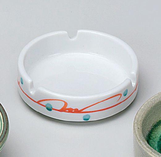赤絵つる草 9cm灰皿 - 業務用食器の「食器プロ.com」 業務用食器のネット通販コーナー