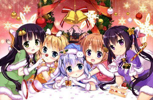 Is The Order A Rabbit Hd Wallpaper Background Image 2954x1984 Id 726411 Wallpaper Abyss Rabbit Wallpaper Anime Best Friends Yandere