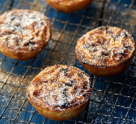 A classic Portuguese custard tart with buttery pastry and a hint of cinnamon and lemon in the filling. Who could resist these delicious tiny treats?