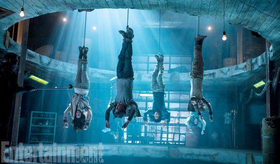 Les premières images pour Le Labyrinthe 2 -La Terre Brûlée (The Scorch Trials en anglais) ont été dévoilées à sept mois de la sortie au cinéma.