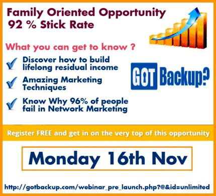 Pre-Launch of GOT Backup...its an opportunity to start Your own GOT Backup...