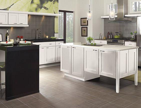 Tolani classic door styles accessories merillat for Merillat white kitchen cabinets