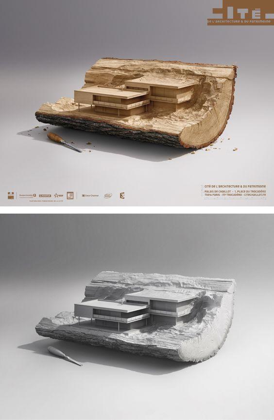 Architecture Museum Paris on Behance