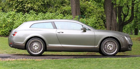 bentley continental shooting brake