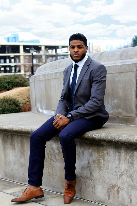 Nothing like a black man in a suit. #beards | The beards