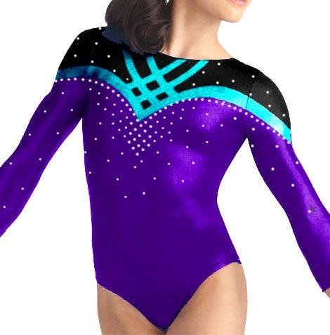 Purple Leotards for Women | Gymnastics Leotards Green