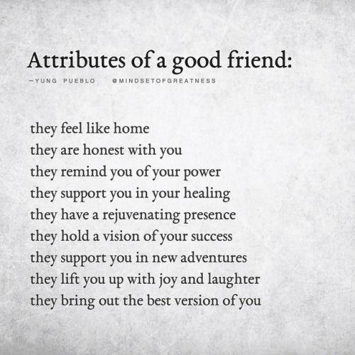 Wonderful Definition Of A Good Friend By Yung Pueblo Sharing