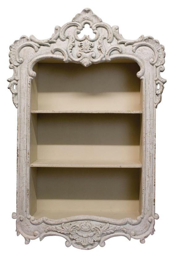 Beautiful Ornate French Country Shabby Chic Wall Shelf Ebay Shabby Chic Dresser Shabby Chic Shabby Chic Bedrooms