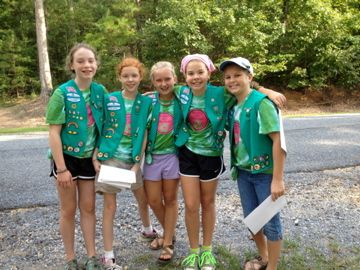 Girl Scouts of North-Central Alabama: Troop 597 Earns Bronze Award with Go Green Project