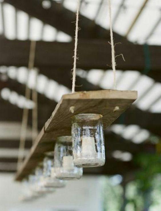 Vela rústica lámpara de por ModernElementsHome en Etsy