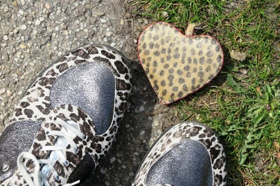 The sun made my shoes sparkle and warmed up my heart.