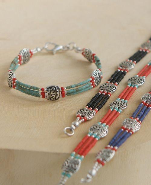 Beautiful Tibetan  Beaded Bracelet 2019bbb