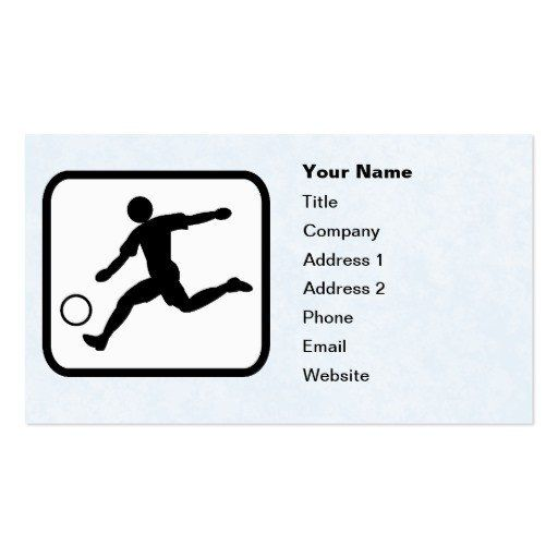 Soccer Player Cards Template New Soccer Player Logo Customizable Template Double Sided Player Card Soccer Players Soccer Cards