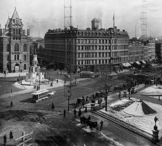 1920's Detroit.