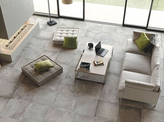 Carrelage beton cire sol pinterest deco for Arte casa carrelage
