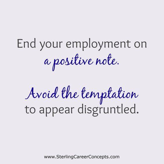 resignation letter samples with reason Resignation Letter Sample - what to avoid writing resignation letter