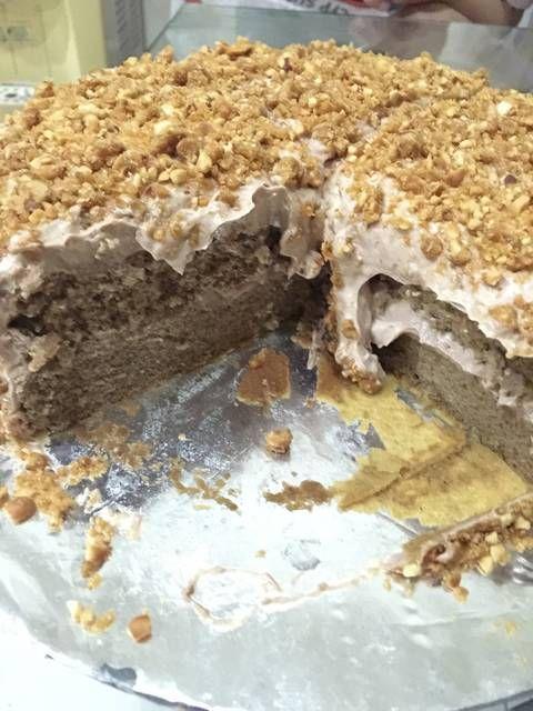 Resep Mocca Nougat Cake Oleh Lila Andriana Recipe Nougat Cake Mocha Cake Nougat