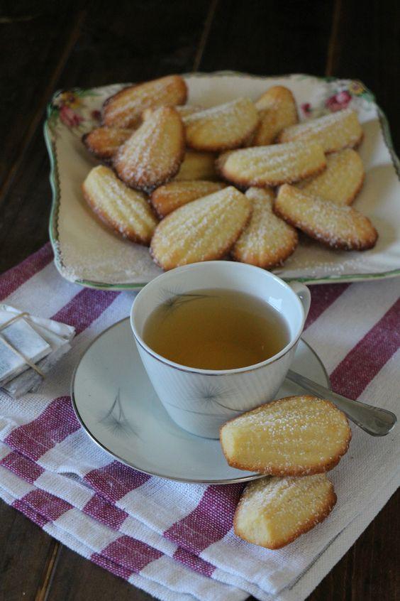 Madeleines de té al limón. Reto