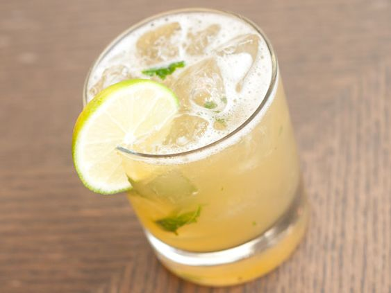 Basil Daiquiri - Ingredients 6 basil leaves Ice 1 1/2 ounces Pyrat Rum XO Reserve 3/4 ounce freshly squeezed lime juice 1/2 ounce simple syrup 1/4 ounce Luxardo Maraschino liqueur Garnish: lime wheel