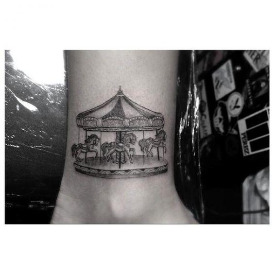 carousel tattoo - Pesquisa Google