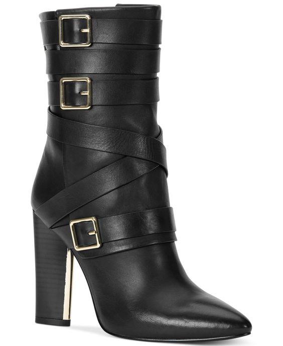 Calvin Klein Zelda Booties - Boots - Shoes - Macy's