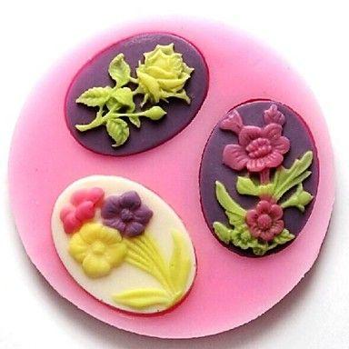 Flower Baking Molds <3