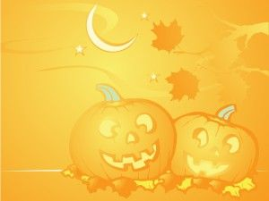 Happy Halloween Powerpoint background is a nice design for your ...