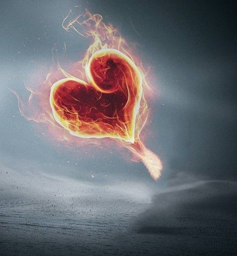 Fire Heart Picart Background Hd Background In 2021 New Backgrounds Picsart Background Photo Background Images Hd Fire heart background images hd