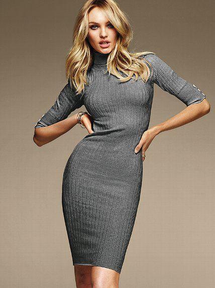Cotton Sweaterdress - Victoria's Secret: